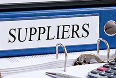 Working for us: Becoming a supplier